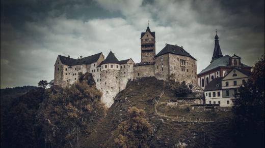 Чехия Замок Локет