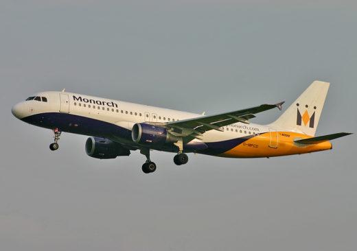 Бакротсво monarch airlines