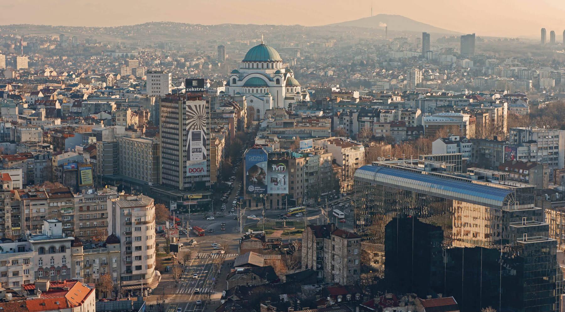 Москва Белград