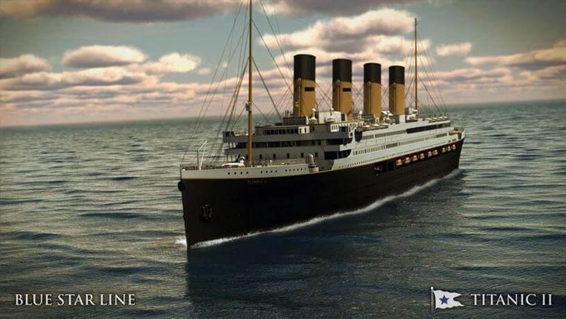 Новый Титаник отправится в свое первое путешествие из Дубая